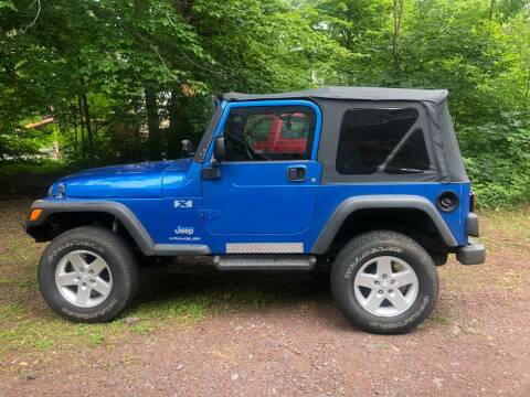 2003 Jeep Wrangler for sale at 22nd ST Motors in Quakertown PA