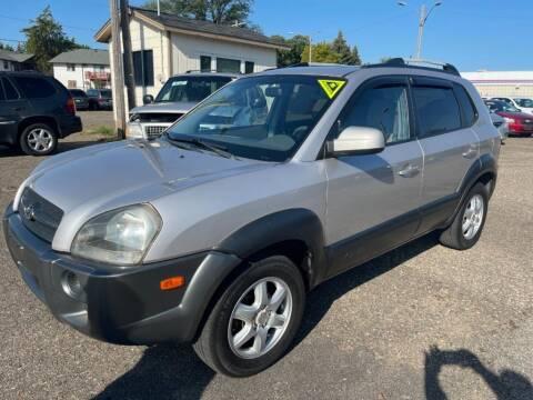 2005 Hyundai Tucson for sale at CHRISTIAN AUTO SALES in Anoka MN