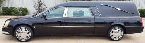 2010 Cadillac DTS Pro for sale at FRANSISCO & MONROE FUNERAL CAR SALES LLC in Tulsa OK