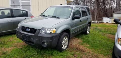 2006 Ford Escape for sale at NRP Autos in Cherryville NC