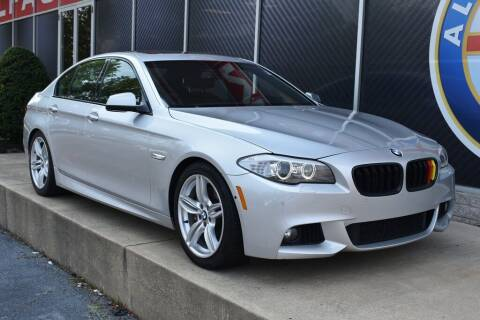 2013 BMW 5 Series for sale at Alfa Romeo & Fiat of Strongsville in Strongsville OH