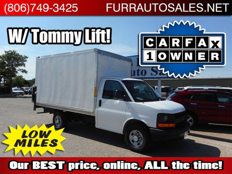 2014 Chevrolet Express Cutaway for sale at FURR AUTO SALES in Lubbock TX