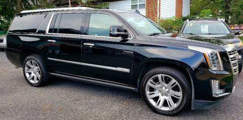 2016 Cadillac Escalade ESV for sale at Dad's Auto Sales in Newport News VA