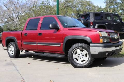 2005 Chevrolet Silverado 1500 for sale at SELECT JEEPS INC in League City TX