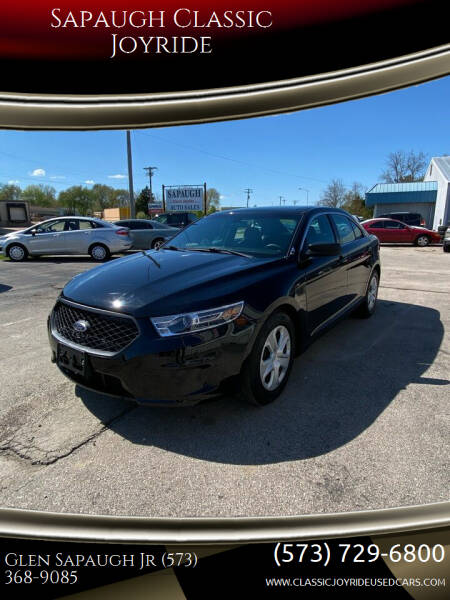2015 Ford Taurus for sale at Sapaugh Classic Joyride in Salem MO
