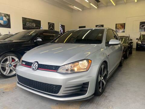 2016 Volkswagen Golf GTI for sale at GCR MOTORSPORTS in Hollywood FL