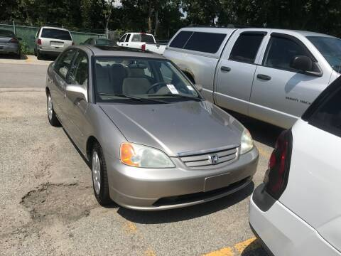 2002 Honda Civic for sale at Stan's Auto Sales Inc in New Castle PA