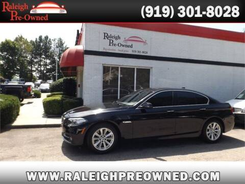 2015 BMW 5 Series for sale at Raleigh Pre-Owned in Raleigh NC