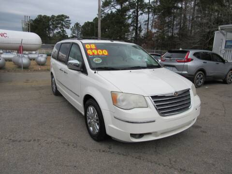 2008 Chrysler Town and Country for sale at Auto Bella Inc. in Clayton NC