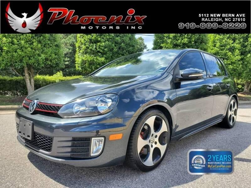 2013 Volkswagen GTI for sale at Phoenix Motors Inc in Raleigh NC