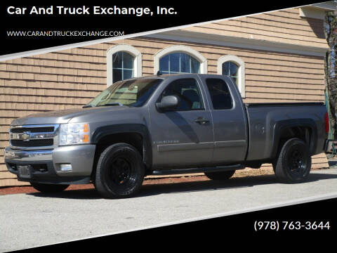 2007 Chevrolet Silverado 1500 for sale at Car and Truck Exchange, Inc. in Rowley MA