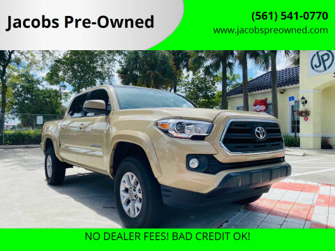 2017 Toyota Tacoma for sale at Jacobs Pre-Owned in Lake Worth FL