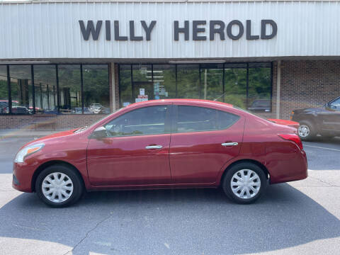 2016 Nissan Versa for sale at Willy Herold Automotive in Columbus GA