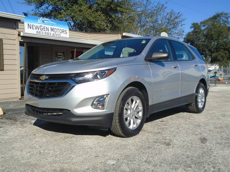 2018 Chevrolet Equinox for sale at New Gen Motors in Lakeland FL