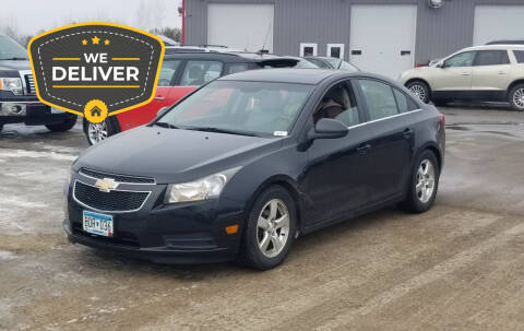 2011 Chevrolet Cruze for sale at Tower Motors in Brainerd MN