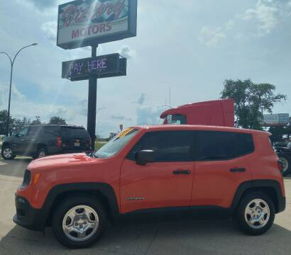 2016 Jeep Renegade for sale at Victory Motors in Waterloo IA