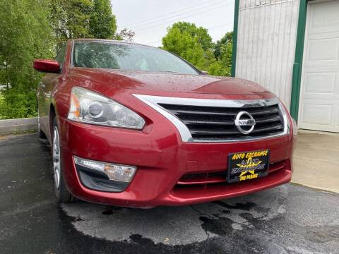 2015 Nissan Altima for sale at Auto Exchange in The Plains OH