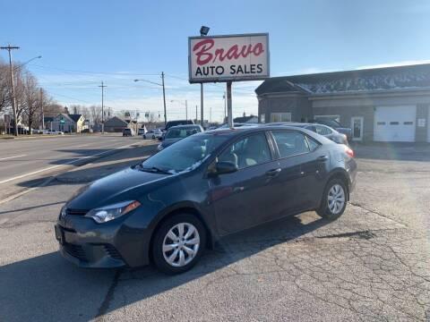 2015 Toyota Corolla for sale at Bravo Auto Sales in Whitesboro NY