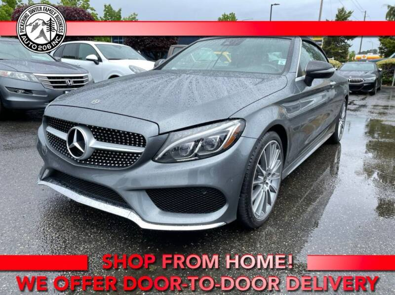 2018 Mercedes-Benz C-Class for sale at Auto 206, Inc. in Kent WA
