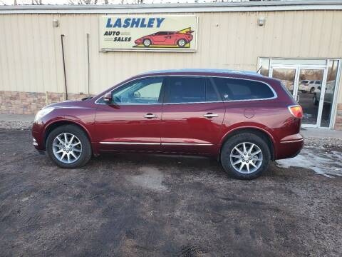 2016 Buick Enclave for sale at Lashley Auto Sales in Mitchell NE