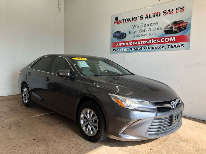2017 Toyota Camry for sale at Antonio's Auto Sales - Antonio`s  3001 in Pasadena TX