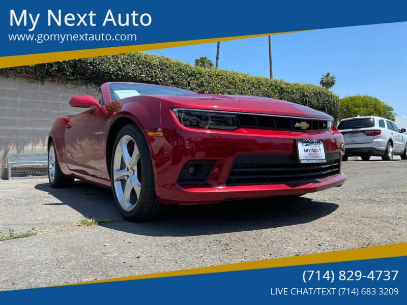 2015 Chevrolet Camaro for sale at My Next Auto in Anaheim CA