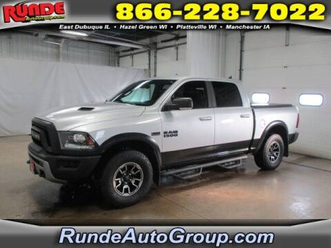 2017 RAM Ram Pickup 1500 for sale at Runde Chevrolet in East Dubuque IL