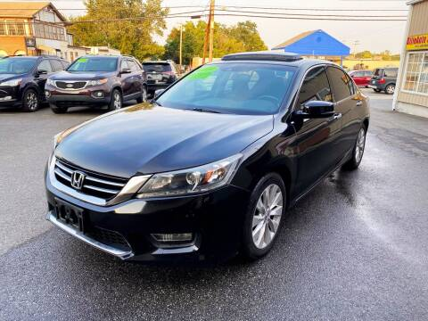 2013 Honda Accord for sale at Dijie Auto Sale and Service Co. in Johnston RI