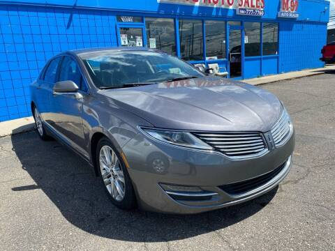 2014 Lincoln MKZ for sale at M-97 Auto Dealer in Roseville MI