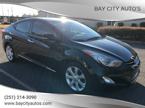 2011 Hyundai Elantra for sale at Bay City Auto's in Mobile AL