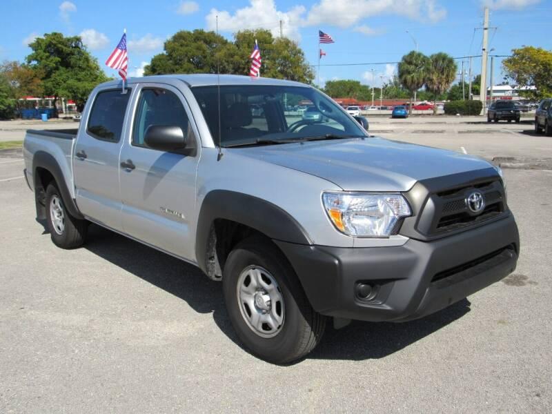 2013 Toyota Tacoma for sale at United Auto Center in Davie FL
