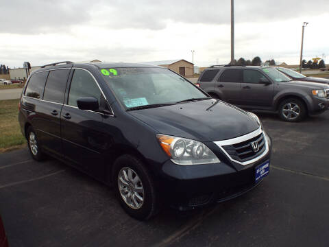 2009 Honda Odyssey for sale at G & K Supreme in Canton SD