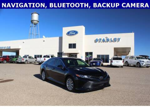 2018 Toyota Camry for sale at STANLEY FORD ANDREWS in Andrews TX