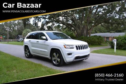2015 Jeep Grand Cherokee for sale at Car Bazaar in Pensacola FL