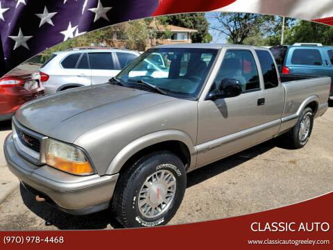 1998 GMC Sonoma for sale at Classic Auto in Greeley CO