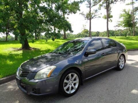 2008 Nissan Maxima for sale at Houston Auto Preowned in Houston TX