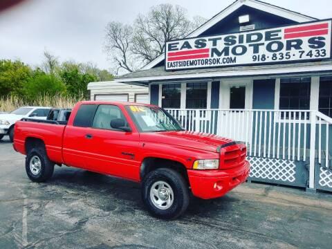2001 Dodge Ram Pickup 1500 for sale at EASTSIDE MOTORS in Tulsa OK
