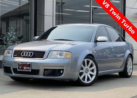2003 Audi RS 6 for sale at Carmel Motors in Indianapolis IN
