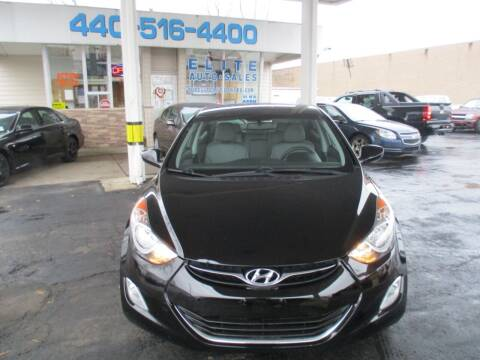 2012 Hyundai Elantra for sale at Elite Auto Sales in Willowick OH