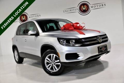 2013 Volkswagen Tiguan for sale at Unlimited Motors in Fishers IN