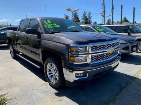 2015 Chevrolet Silverado 1500 for sale at Contra Costa Auto Sales in Oakley CA