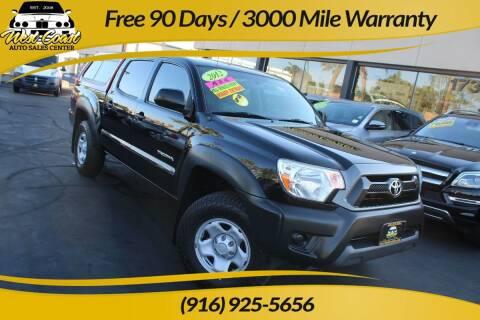 2012 Toyota Tacoma for sale at West Coast Auto Sales Center in Sacramento CA