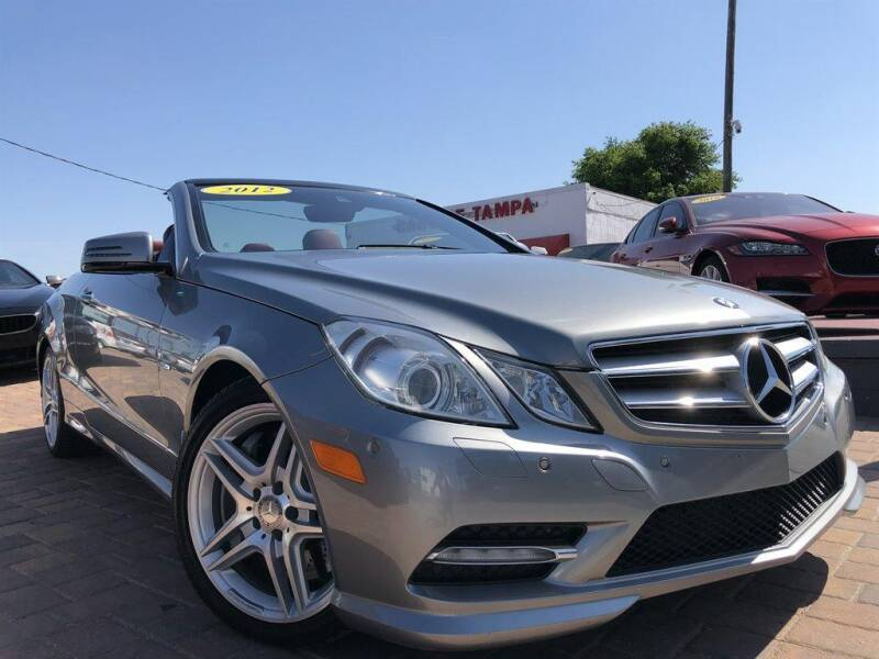2012 Mercedes-Benz E-Class for sale at Cars of Tampa in Tampa FL