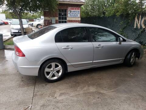2007 Honda Civic for sale at El Jasho Motors in Grand Prairie TX