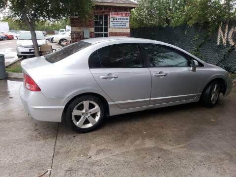 2007 Honda Civic for sale at El Jasho Motors in Grand Prairie TX