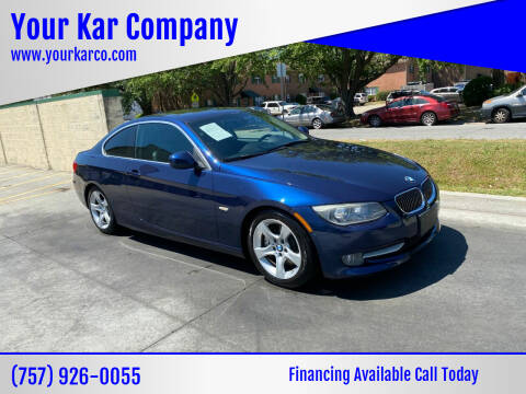 2013 BMW 3 Series for sale at Your Kar Company in Norfolk VA