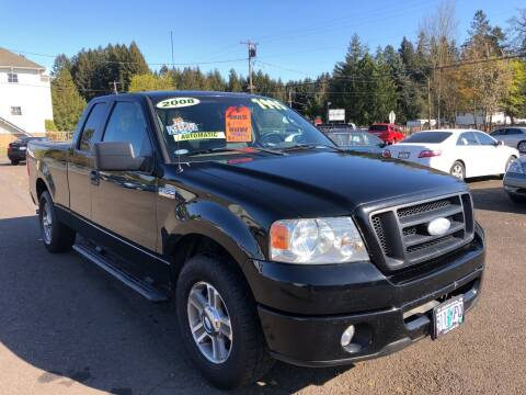 2008 Ford F-150 for sale at Freeborn Motors in Lafayette, OR