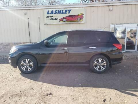 2017 Nissan Pathfinder for sale at Lashley Auto Sales in Mitchell NE