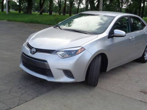 2016 Toyota Corolla for sale at Royal Auto Sales KC in Kansas City MO
