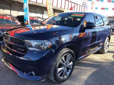 2013 Dodge Durango for sale at Duke City Auto LLC in Gallup NM